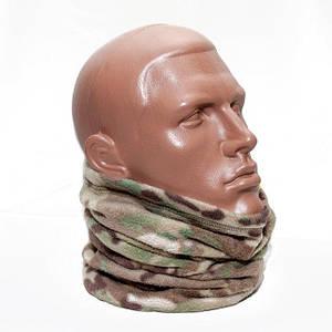 Бафф (шарф-труба) флисовый/ Multicam
