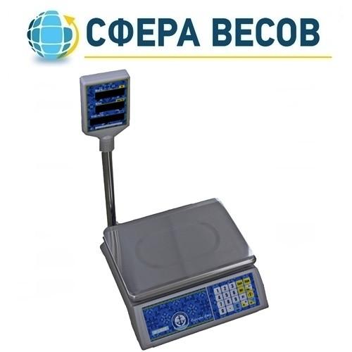Весы торговые Вагар VP-L (15 кг)