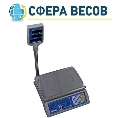 Весы торговые Вагар VP-L (15 кг), фото 2