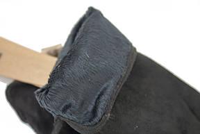 Перчатки замшевые черные Look 215, фото 3