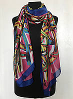 Шелковый роскошный шарф