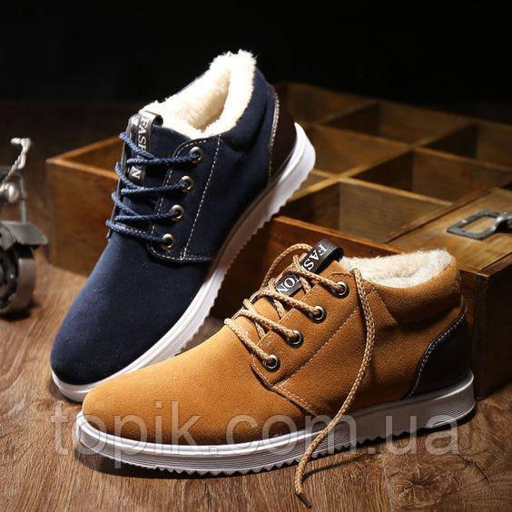 Зимние ботинки мужские по низкой цене