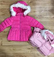 Куртка утепленная для девочек F&D оптом,1-5 лет.