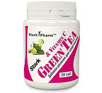 Жиросжигатель Stark Pharm - Green Tea + Vit C  (30 таблеток)