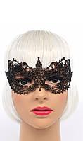 Карнавальная маска медного цвета