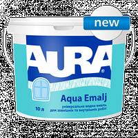 Aura Aqua Emalj Универсальная водная эмаль для наружных и внутренних работ 0.75 л