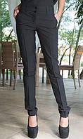 Офисные брюки черные