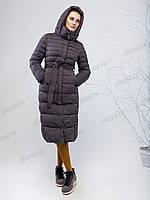 Пальто женское зимние на искусственном пуху, фото 1