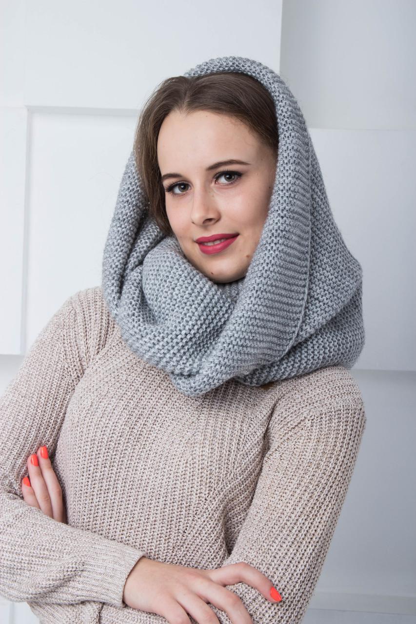 Жіночий шарф-хомут