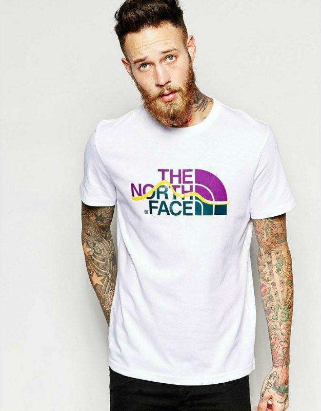 Брендовая футболка The North Face