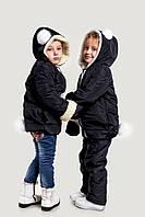 Детская куртка + варежки зима