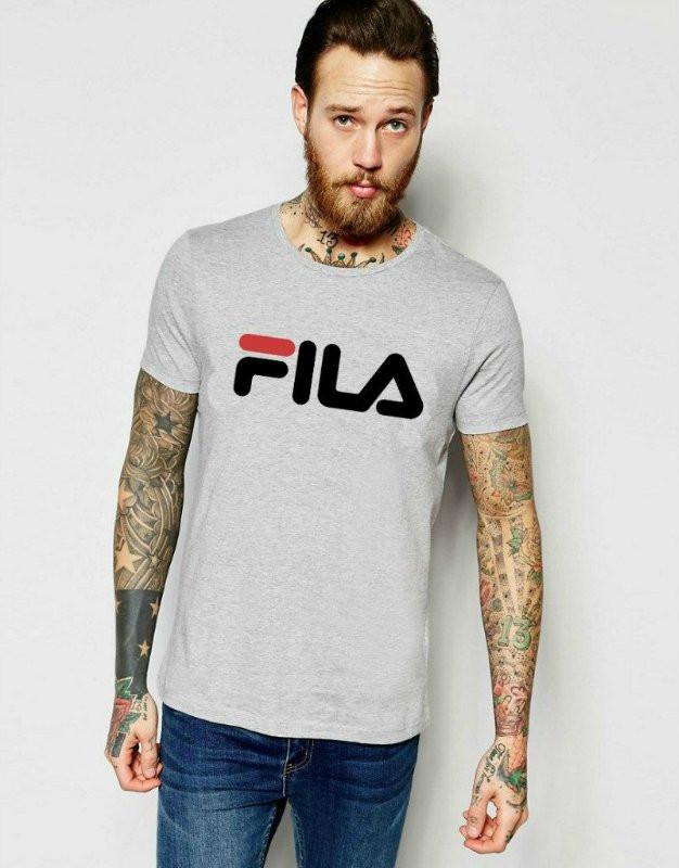 Брендовая футболка Fila