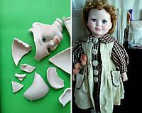 Реставрация и ремонт фарфоровой куклы