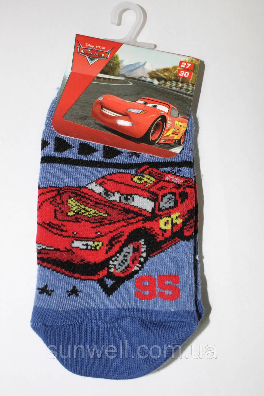 Дитячі шкарпетки следка для хлопчиків Тачки, Польща р-р