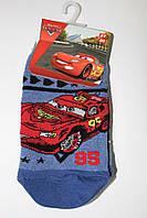 Детские носки следки для мальчиков Тачки,  Польша р-р  27-30