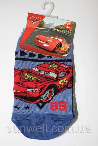 Дитячі шкарпетки следка для хлопчиків Тачки, Польща р-р, фото 2
