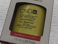 CND-Shellac Sun Bleached шлак гель лак