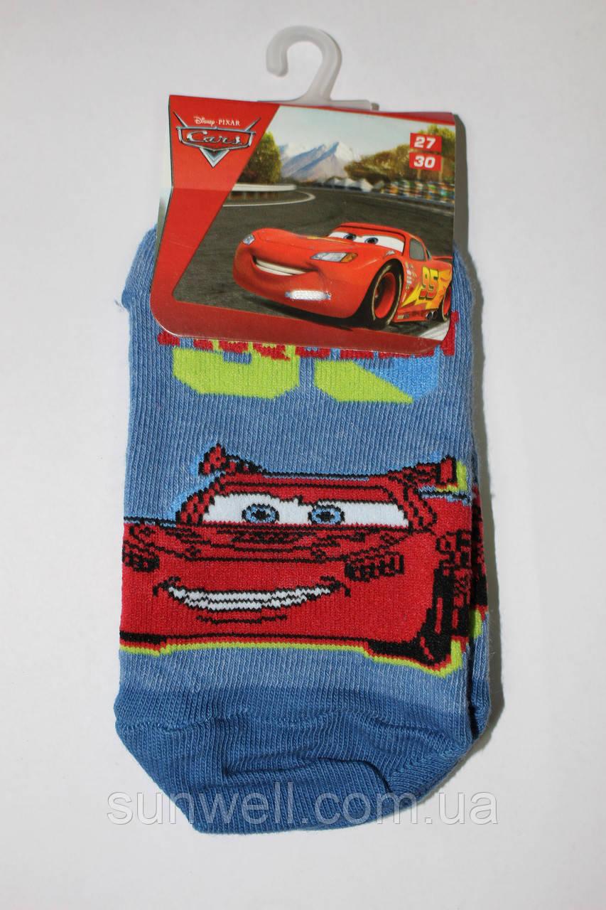 Детские носки следки для мальчиков Тачки,  Польша р-р