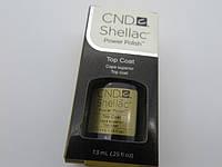 CND-Shellac  Top coat Верхнее покрытие 7.3 ml  шлак гель лак для ногтей