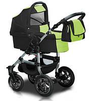 Универсальная коляска 2 в 1 Trans Baby Jumper 08/43 Dark Gray / Light Green
