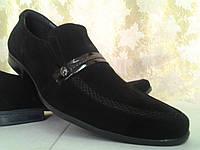 Классические мужские туфли замшевые  Rondo, фото 1