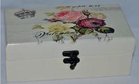 """Коробка шкатулка для чая """"Прованс"""" (20*10*8 см)"""