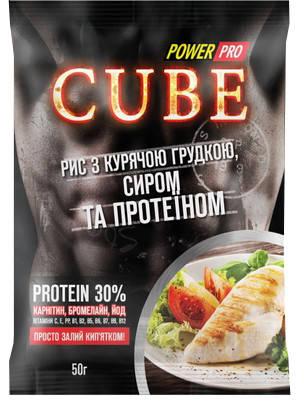 Каша Power Pro Cube 50 г (30% протеїну), фото 2