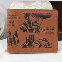 Мужской кошелек CowBoy портмоне, бумажник