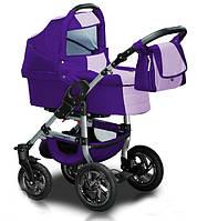 Универсальная коляска 2 в 1 Trans Baby Jumper 115/130 Purple / Lilac