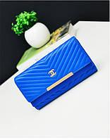 Кошелек клатч Chanel blue