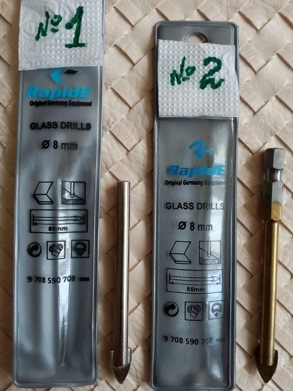 Свердло плоске по склу і плитці RapidE 12mm