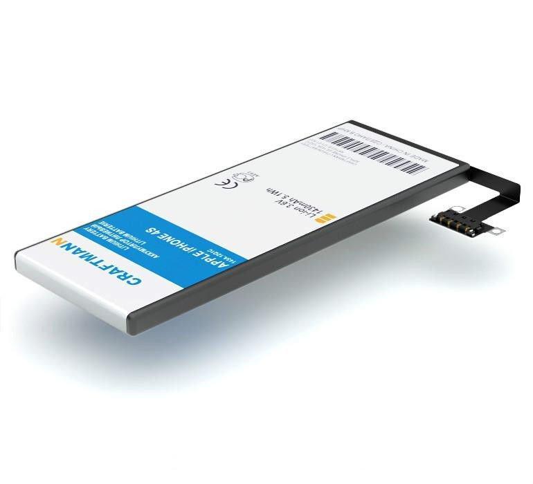 Аккумулятор Craftmann APPLE iPHONE 4S 1430mAh 616-0579