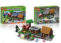 Конструктор Minecraft 44049 Деревня (Аналог LEGO 21128)
