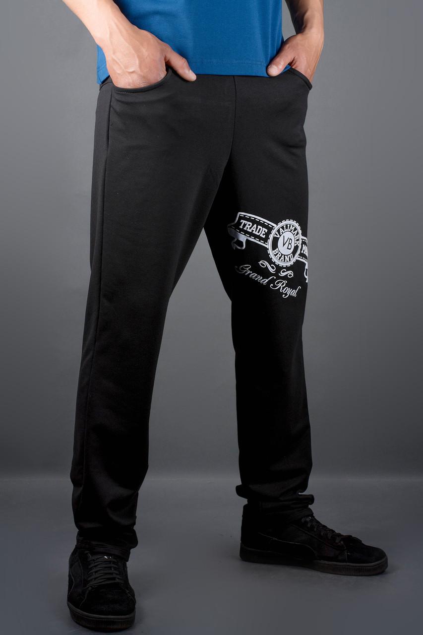 Мужские спортивные штаны Шерон, цвет черный / размерный ряд 46,48,50,52,54