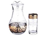 Кувшин 1л + 6 стаканов Мускат 05-3944/402