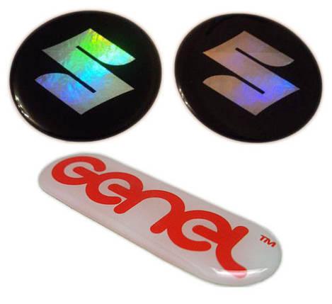 Объемные силиконовые наклейки под заказ, фото 2