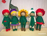 Амигуруми Куклы цветы