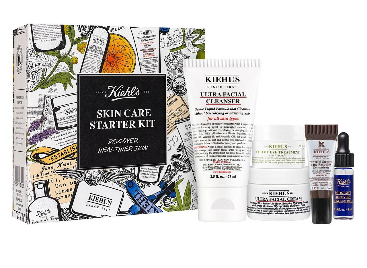 Набор косметики для лица Kiehl's Healthy Skin Starter Kit