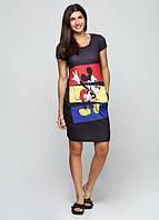 4462 Платье с Микки Маусом черное: imprezz.com.ua