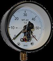 Вакуумметр электроконтактный МТ-4С (диаметр корпуса 160мм)