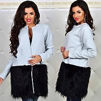 Пальто кашемировое на подкладке мод.0034