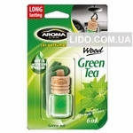 Ароматизатор Aroma Car Wood - GREEN TEA (50шт.)