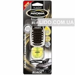 Ароматизатор Aroma Car Supereme Slim 8ml - BLACK (40шт.)