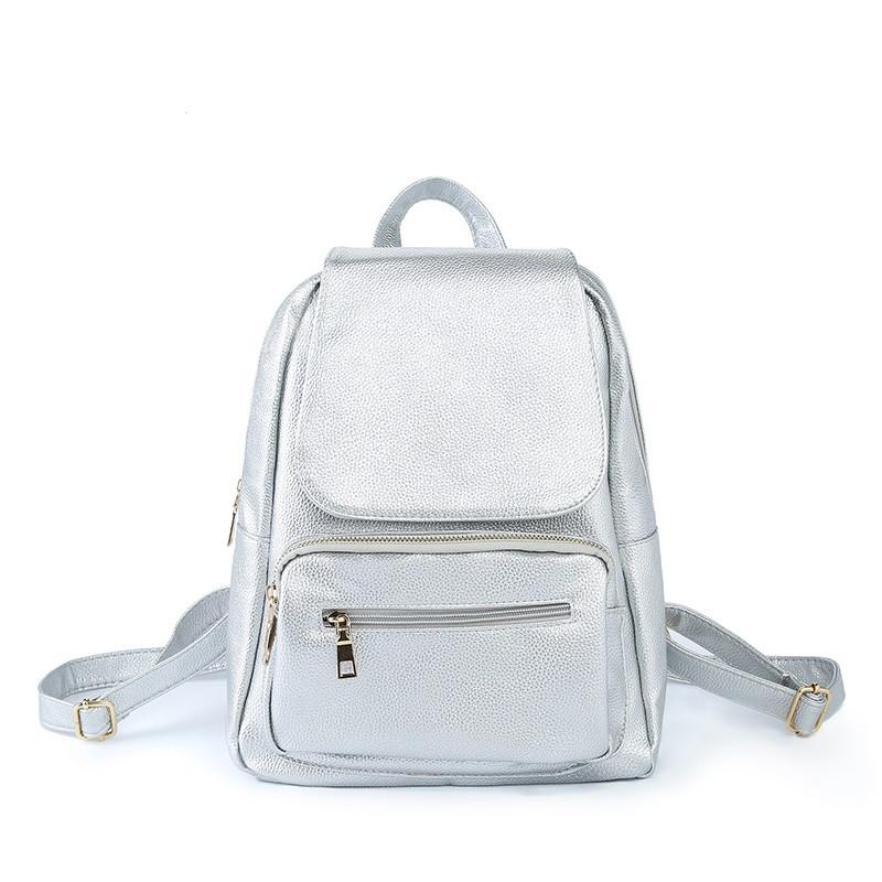 Рюкзак женский стильный Larckers (серебро) - Интернет-магазин «VINGO» в  Виннице b665104db77