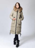 Куртка зимняя женская с натуральным мехом
