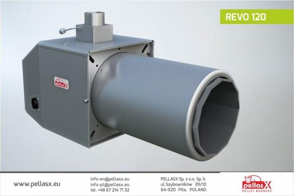 Пеллетная горелка Pellasx REVO 120