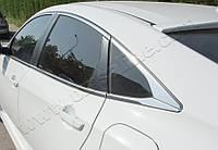 Полная окантовка стекол Хонда Цивик Седан 10 2016+ (8шт)