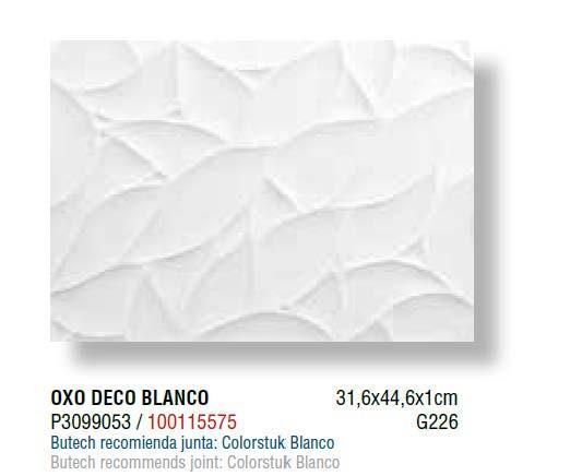 Керамічна плитка Porcelanosa OXO DECO BLANCO 31,6 х 44,6