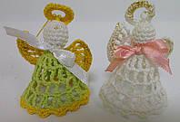 Детская Игрушка Ангелочки, вязаные крючком, фото 1
