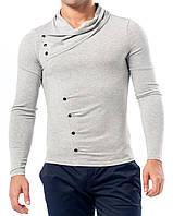 Пуловер мужской трикотажный: M- 4906